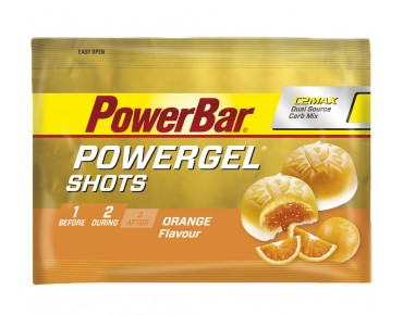 PowerBar Gel Shots fruit gums orange