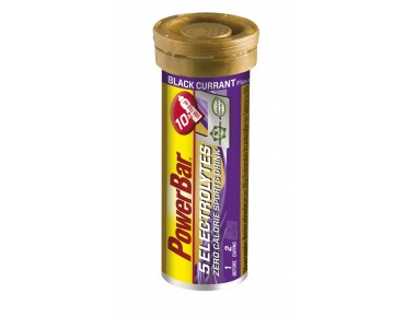 PowerBar 5 Electrolytes effervescent tablets blackcurrant