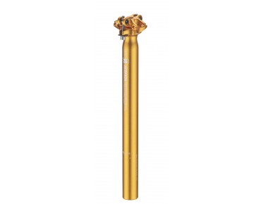 Sixpack Menace seat post nugget gold