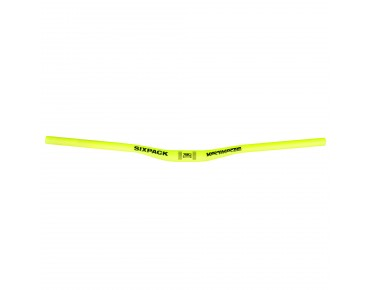Sixpack Kamikaze 780 handlebar day-glo yellow matt