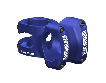 Sixpack Skywalker stem blue