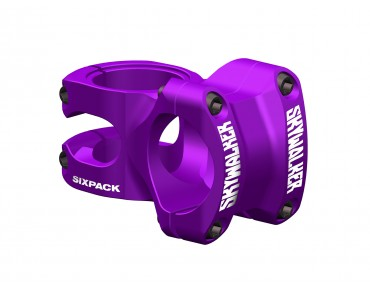Sixpack Skywalker stem purple