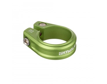 Sixpack Skywalker seat post clamp electric green
