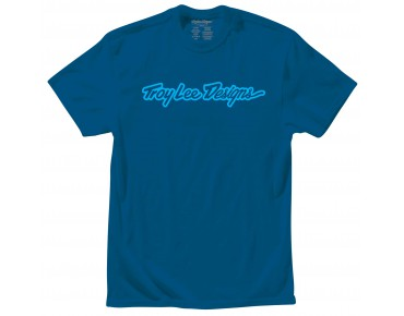 Troy Lee Designs SIGNATURE T-Shirt patrol blue