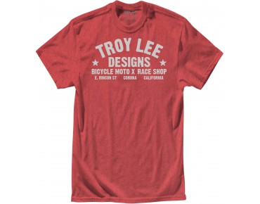 Troy Lee Designs RACESHOP T-shirt heather red