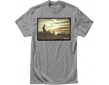 Troy Lee Designs SUNSET T-Shirt heather gray