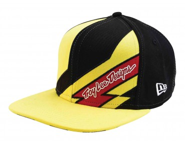 Troy Lee Designs CAUTION Kappe black/yellow