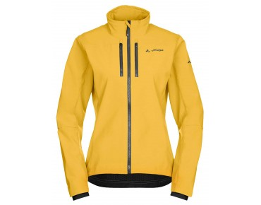 VAUDE QIMSA women's soft shell jacket golddust