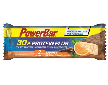PowerBar Protein Plus 30% bar – RICH IN HIGH-QUALITY PROTEIN Orange Jaffa Cake