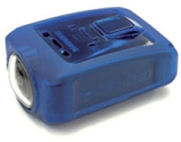 SHIMANO CM-1000 Action Cam silicone protective sleeve blue