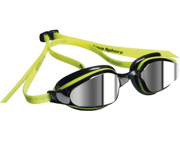 MP K180 goggles yellow-black/mirrored lens