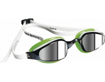 MP K180 goggles white-green/mirrored lens