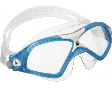 Aqua Sphere Seal XP2 swimming goggles aqua-white/clear lens