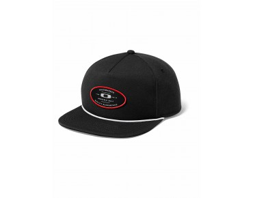 OAKLEY SNAP-BACK PATCH cap black/red