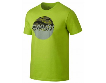 OAKLEY SMOKESCREEN TEE t-shirt lime green