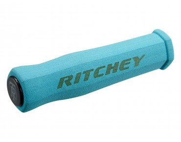 Ritchey WCS True Grip grips blue