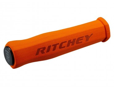 Ritchey WCS True Grip grips orange