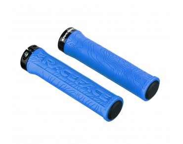 Race Face Half Nelson grips blue