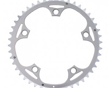 TA Alizé 9-/10-speed 46-tooth chainring silver
