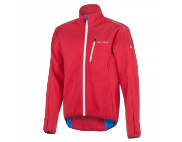 ROSE KUPOL soft shell jacket by Vaude indian red