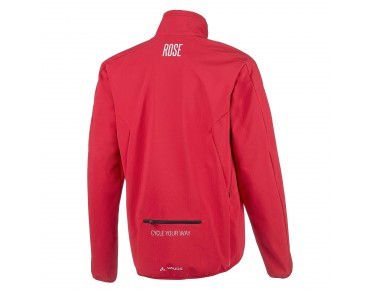 VAUDE ROSE KUPOL soft shell jacket by Vaude indian red