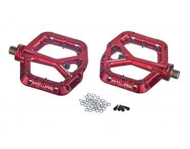 Race Face Atlas MTB pedals red