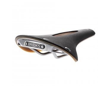 Brooks C17s CARVED Damensattel black
