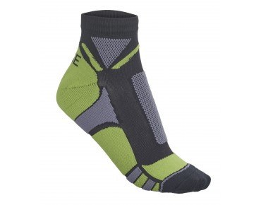 ROSE HI-TECH socks lime/grey