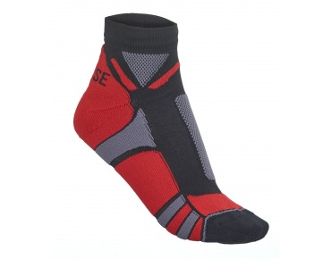 ROSE HI-TECH socks red/grey