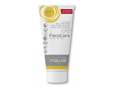 mawaii FaceCare sports suncream SPF 20