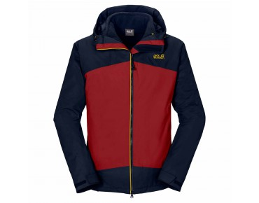 Jack Wolfskin FROST WAVE jacket dried  tomato