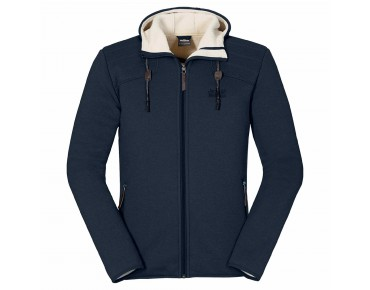 Jack Wolfskin TERRA NOVA HOODED fleece jacket night blue