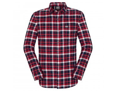 Jack Wolfskin WEST BROOK OC shirt night blue  checks