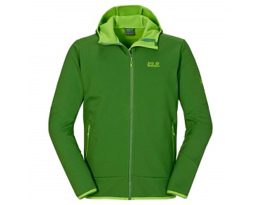 Jack Wolfskin GLACIER VALLEY II soft shell jacket cactus green