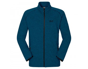 Jack Wolfskin CARIBOU ALTIS fleece jacket moroccan blue