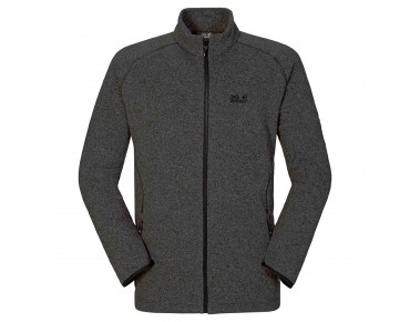 Jack Wolfskin CARIBOU ALTIS fleece jacket dark  steel