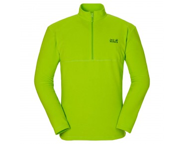 Jack Wolfskin GECKO fleece shirt lime green