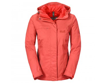 Jack Wolfskin SOUTH BROOK TEXAPORE Damen Jacke light pepper