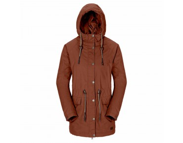 Jack Wolfskin MILLERTOWN F65 Damen Mantel brown leaves