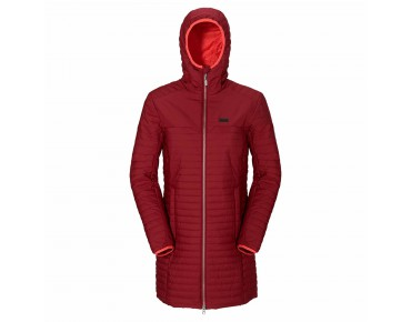 Jack Wolfskin CLARENVILLE INS women's coat dried  tomato