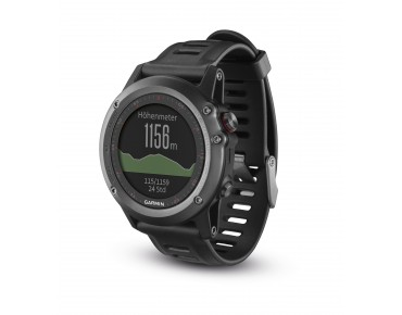 Garmin fenix 3 GPS multisport watch grey/black