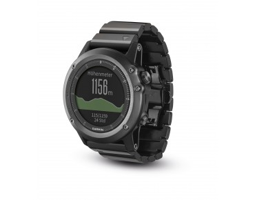 Garmin fenix 3 GPS multisport watch saphir