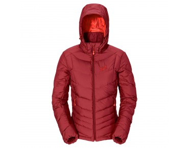 Jack Wolfskin SELENIUM DOWN women's jacket dried  tomato
