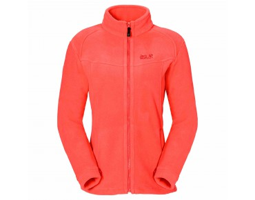 Jack Wolfskin WINNIPEG Damen Fleecejacke hot coral