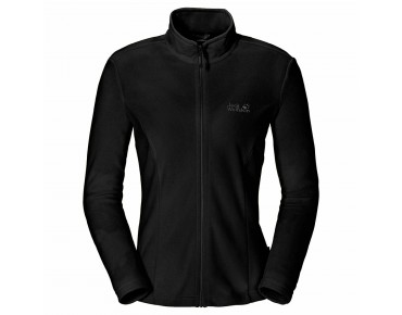Jack Wolfskin GECKO women's fleece jacket black