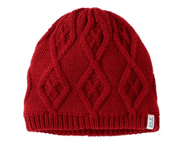 Jack Wolfskin PLAIT beanie dried  tomato