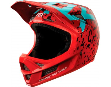 FOX RAMPAGE PRO CARBON MIPS Vollvisierhelm cau red