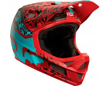 FOX RAMPAGE PRO CARBON MIPS full-face helmet cau red