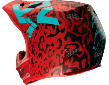 FOX RAMPAGE PRO CARBON MIPS - casco integrale cau red