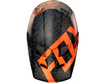 FOX RAMPAGE PRO CARBON MIPS full-face helmet cauz orange